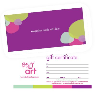 Belly Art Gift Certificate